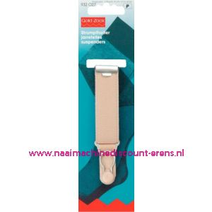 001567 / Jarretel Veloursband Met 20 Mm Huidskleurig art. nr. 932027