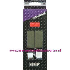 001585 / Men Clips Standaard 110 Cm 25 Mm Groen art. nr. 944143