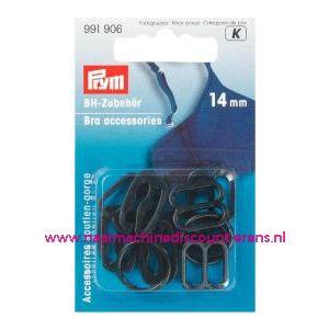 001623 / Bh Accessoires Assortiment 14 Mm Zwart art.nr.  991906