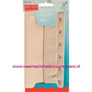 001638 / Bh-Sluiting Met Huidbesch. 2 Sl. 150 Mm Huidskl.art.nr992092