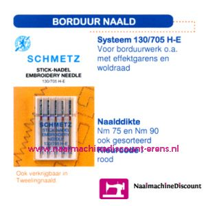 Borduurnaalden 130/705 H-E-90 - 1708
