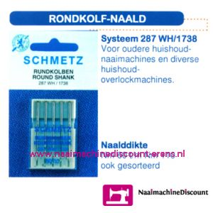 001731 / Rondekolf Naald 287 WH/1738-70-90