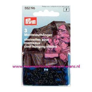 Mantelhangers zwart Prym art. nr. 552196 - 2146