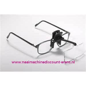 Daylight clip-on vergrootglazen voor op uw bril