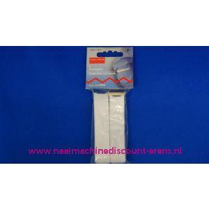Mouwophouders elastiek stof wit prym art. nr. 948040 - 2238