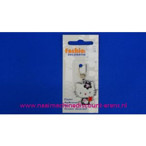 Hello Kitty Zwart - Wit - 2276