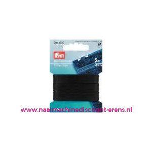 002401 / Huishoudband 10 Mm Zwart Goldzack art. nr. 904600
