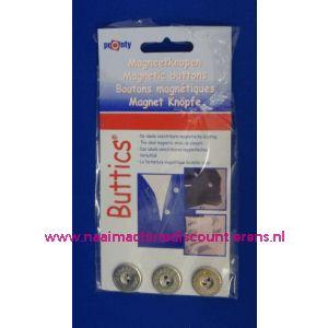 Magneetknopen Zilver Pronty - 2430