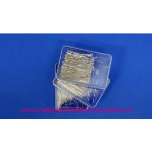 002442 / Spelden met Zilveren Kop Metaal Discount