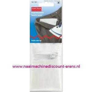 Veiligheidsbroekzak / tas met ritssluiting prym art. 967180 - 2509