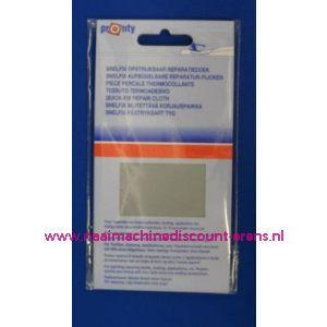 Reparatiedoek LICHT GRIJS 11 x 25 Cm - 2577