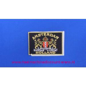 002765 / Amsterdam - Holland zwart