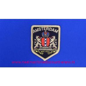 002770 / Amsterdam Wapen op Schild zwart