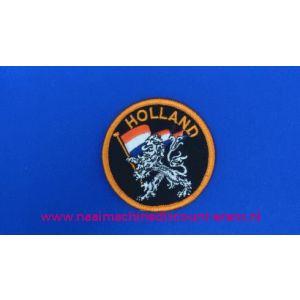002786 / Holland Zwart Leeuw Rond