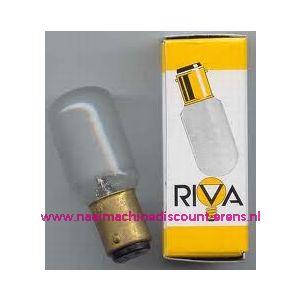 002906 / RIVA Bajonet B15 - 15 Watt