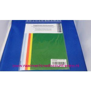 003019 / Kopieerpapier 5 kleuren 170 Mm x 500 Mm