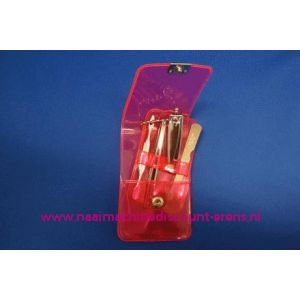 "Manicure set Luxe 4-delig ""rose"" - 3197"