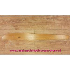 Houten Ovaal Liniaal Turhan 60 Cm
