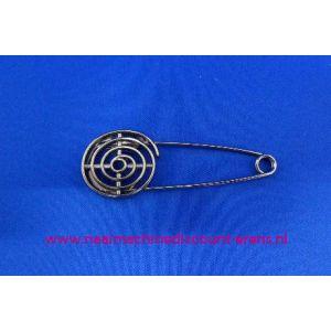 Kiltspeld gedraaid fijn kleur Zilver art. nr. 10194 / 003427