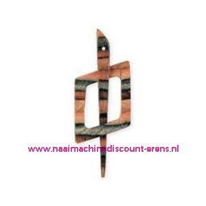 Decoratieve sluiting voor o.a. breiwerken Prym art.nr.417743 / 003448
