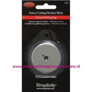 003455 / Simplicity Rotary Cutting Perforerend Mes Recht