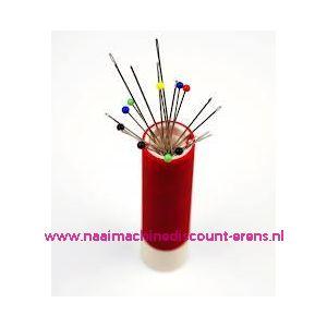 Draaibare naaldenverdeler ergonomics  rood prym art. 610297
