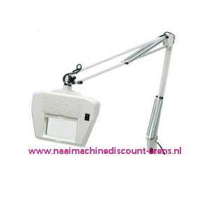 Loupelamp met schaararm van 99 Cm en wit TL-lamp