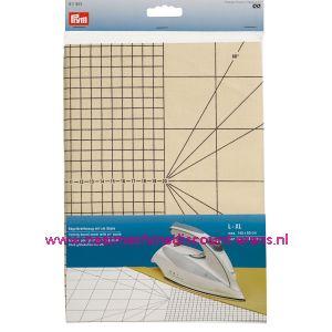 Strijkplankhoes met cm-schaal L-XL prym art. nr. 611923