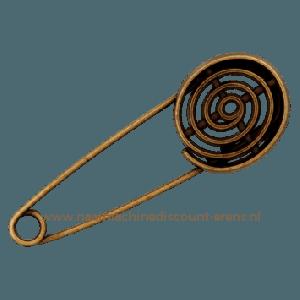 "Kiltspeld gedraaid fijn kleur ""Brons"" art. nr. 500468"