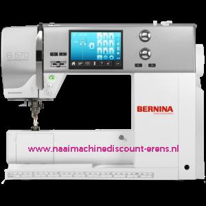 "BERNINA 570 QE - QUILT EDITION ""nieuw model"""