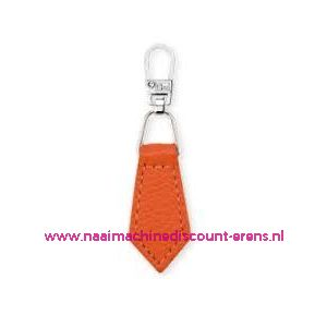 Fashion Zipper leder imitatie Oranje prym art. nr. 482354 - 6169