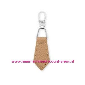006172 / Fashion Zipper leder imitatie Beige prym art. nr. 482353