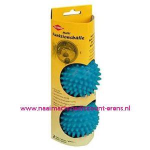 Wasdroger ballen blauw Kleiber 2 stuks