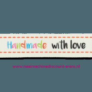 Band Handmade with Love kl.902 per meter prijs