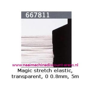 009363 / Gutermann Kralen Magic Stretch Wit art. 667811