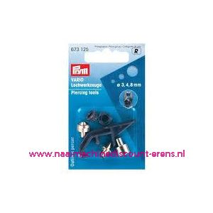 009412 / Vario-ponsstempels prym art. nr. 673125