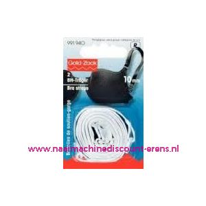 BH-Schouderband Wit 10 Mm prym art. nr. 991940 - 9424