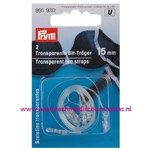 BH-Schouderband Transparant 15 Mm prym art. nr. 991930 - 9514