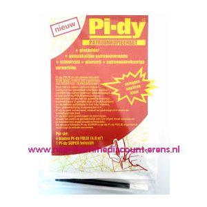 Pi-dy Patroonkopieerset 4 Bladen+ 1 Foliestift