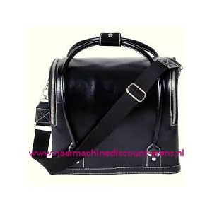 009911 / Leatherlook tas zwart prym art. nr. 612822