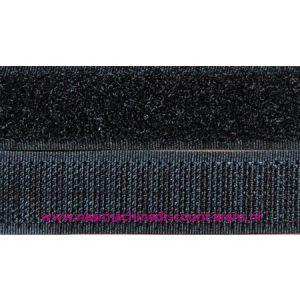 009950 / Klittenband 2 Cm kleur zwart voor te naaien