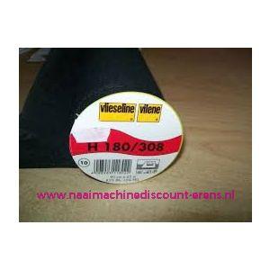 009960 / Vlieseline H180 Zwart 90 Cm breed