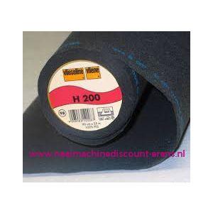 009961 / Vlieseline H200 Zwart 90 Cm breed