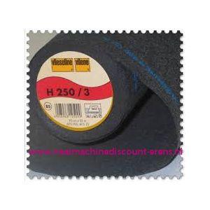 009968 / Vlieseline H250 Zwart 90 Cm breed