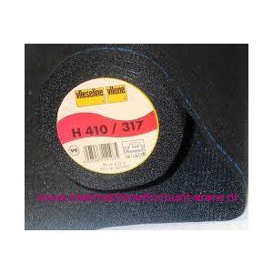 009973 / Vlieseline H410 Zwart 90 Cm breed