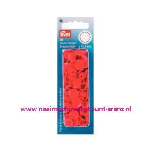 009976 / Prym Color Snaps kleur L'RED art. nr. 393101