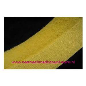009981 / Klittenband 2 Cm kleur geel voor te naaien