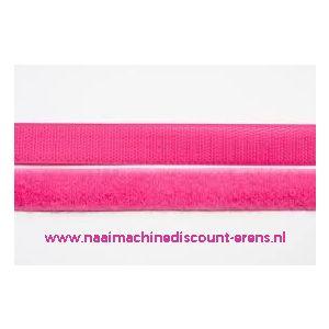 009982 / Klittenband 2 Cm kleur fel rose voor te naaien