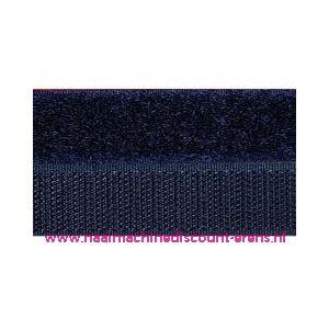 009987 / Klittenband 2 Cm kleur donker blauw voor te naaien