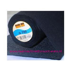 009989 / Vlieseline G700 Zwart 90 Cm breed